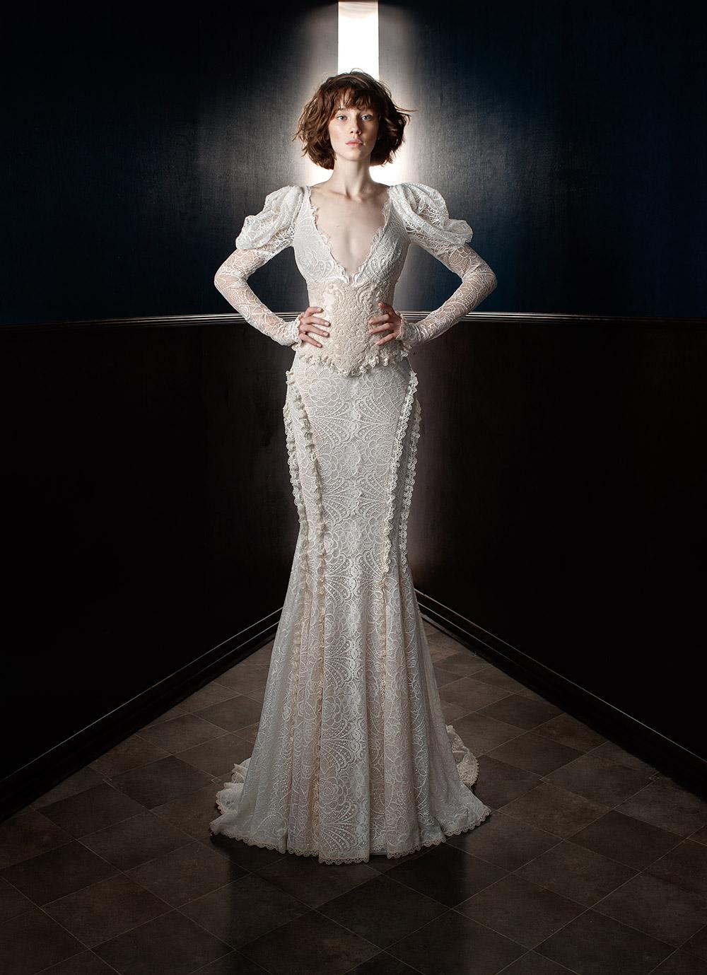 Charlie and Dolly Belt - Galia Lahav Spring 2018 Bridal Collection. www.theweddingnotebook.com