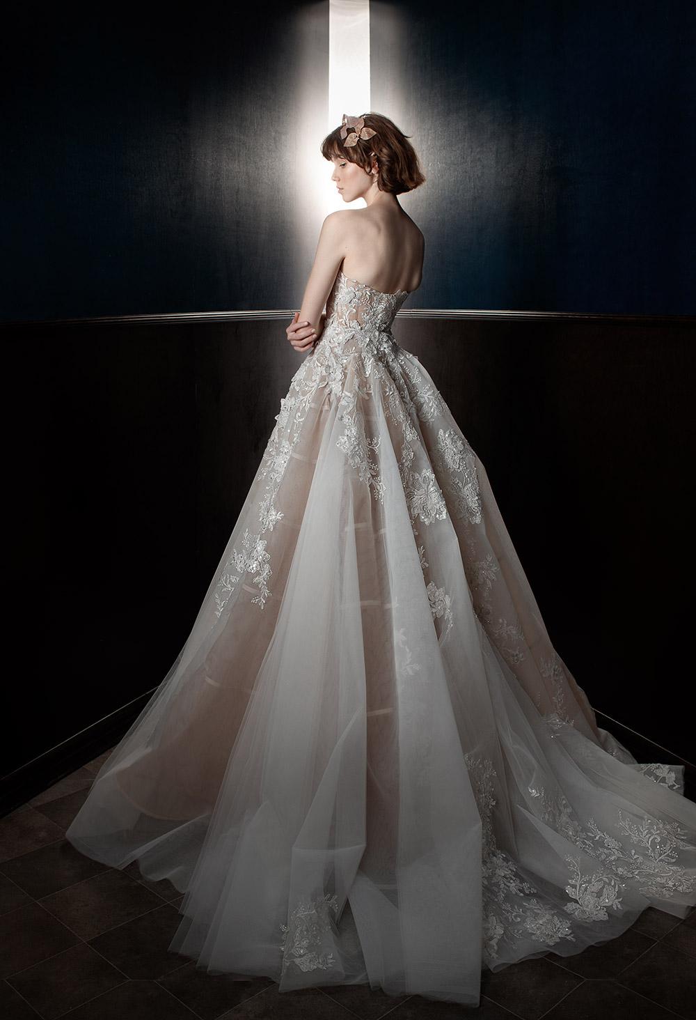 Alma - Galia Lahav Spring 2018 Bridal Collection. www.theweddingnotebook.com