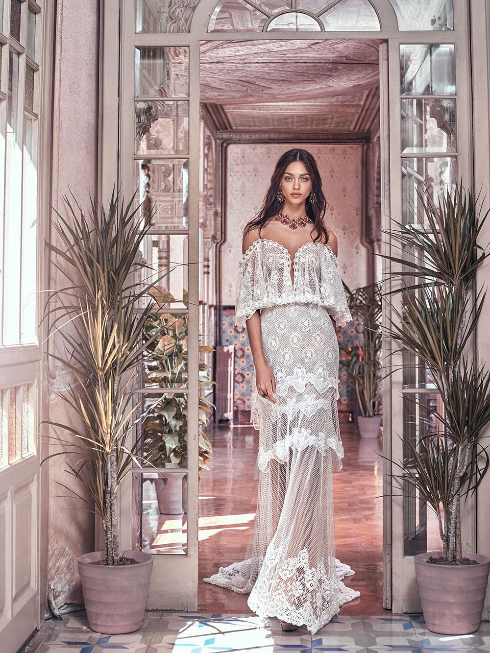 Lizzy - Galia Lahav Spring 2018 Collection. www.theweddingnotebook.com