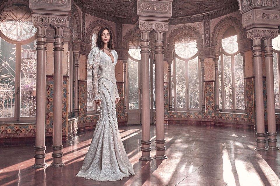 Charlie - Galia Lahav Spring 2018 Collection. www.theweddingnotebook.com