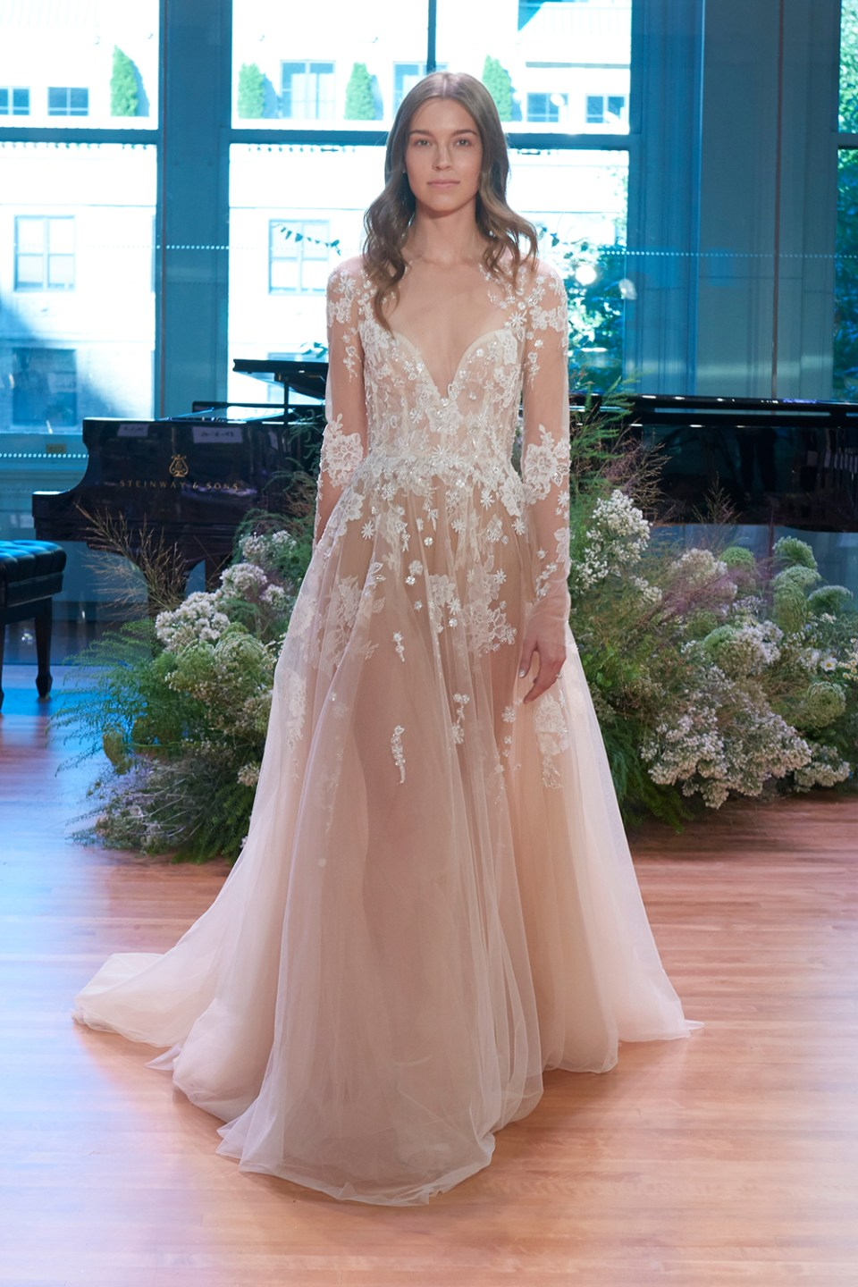 Rosemary - Monique Lhuillier Fall 2017 Bridal Collection. www.theweddingnotebook.com