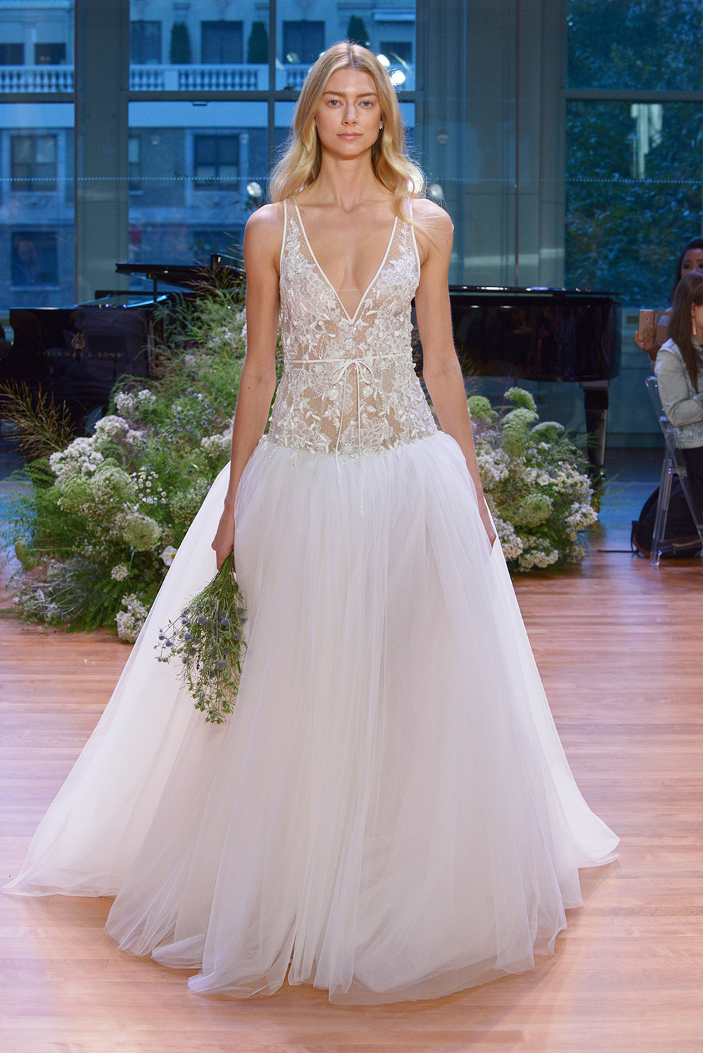 Viola - Monique Lhuillier Fall 2017 Bridal Collection. www.theweddingnotebook.com