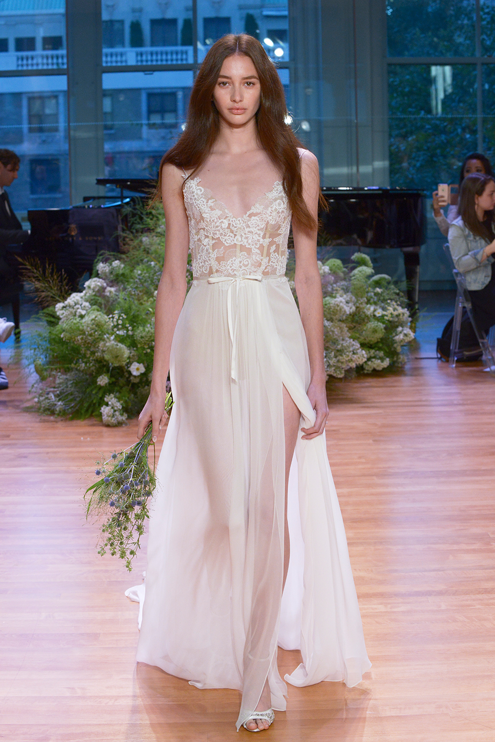 Julia - Monique Lhuillier Fall 2017 Bridal Collection. www.theweddingnotebook.com
