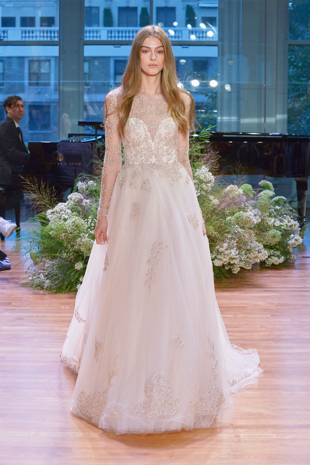 Rhapsody - Monique Lhuillier Fall 2017 Bridal Collection. www.theweddingnotebook.com