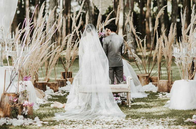 A magical forest wedding at pine forest camp bandung the wedding a magical forest wedding at pine forest camp bandung junglespirit Gallery