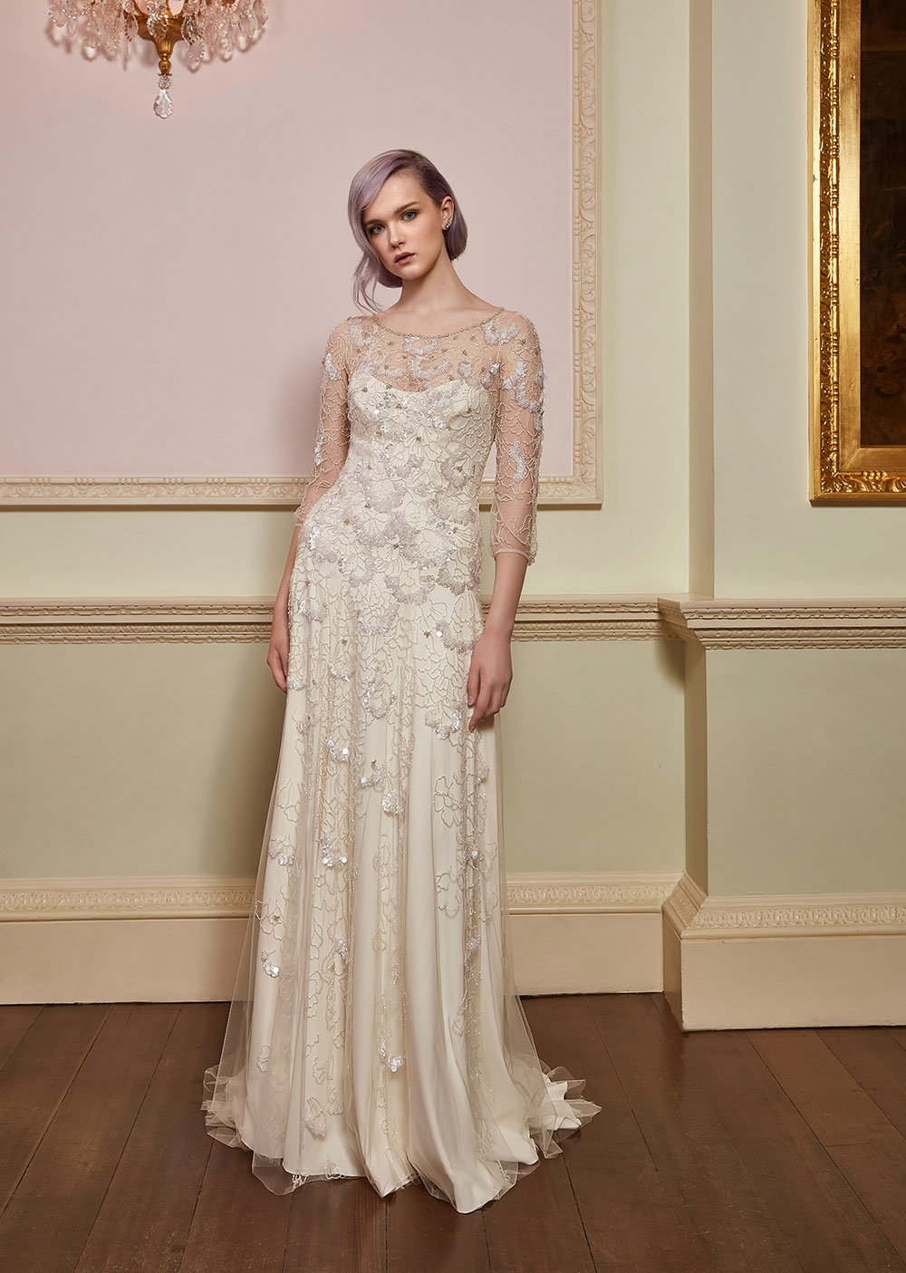 Freedom Ivory - Jenny Packham 2018 Bridal Collection. www.theweddingnotebook.com