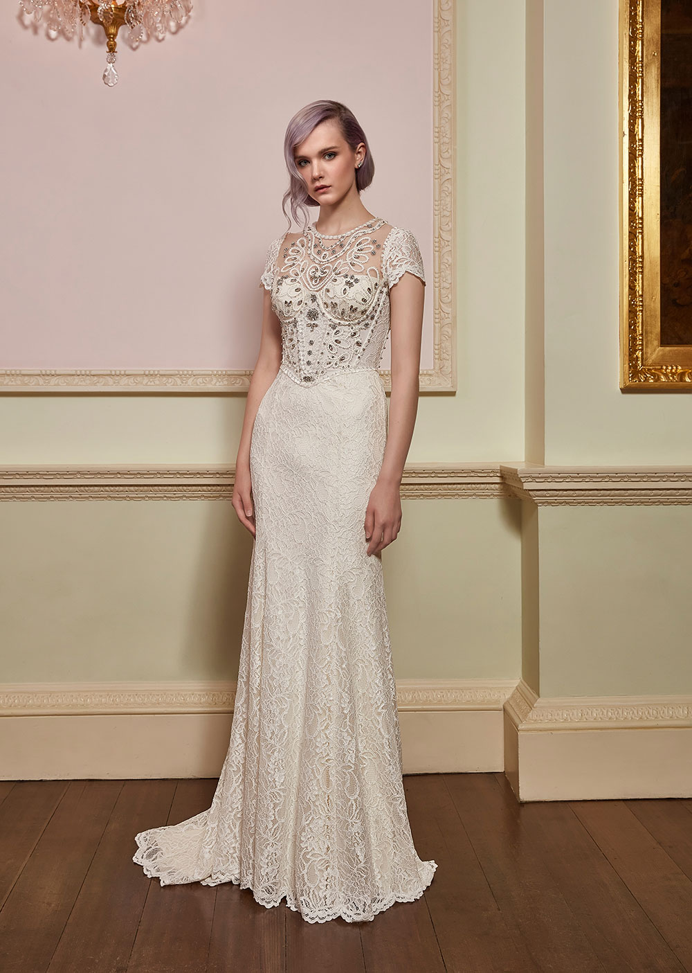 Delicia & Valentine - Jenny Packham 2018 Bridal Collection. www.theweddingnotebook.com