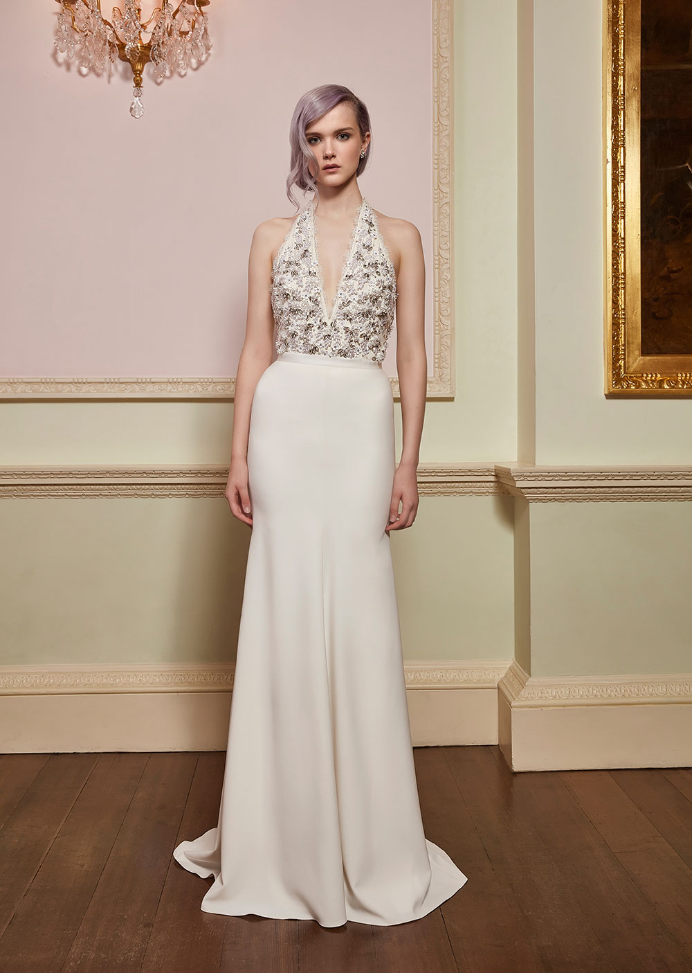 Verity & Christy - Jenny Packham 2018 Bridal Collection. www.theweddingnotebook.com