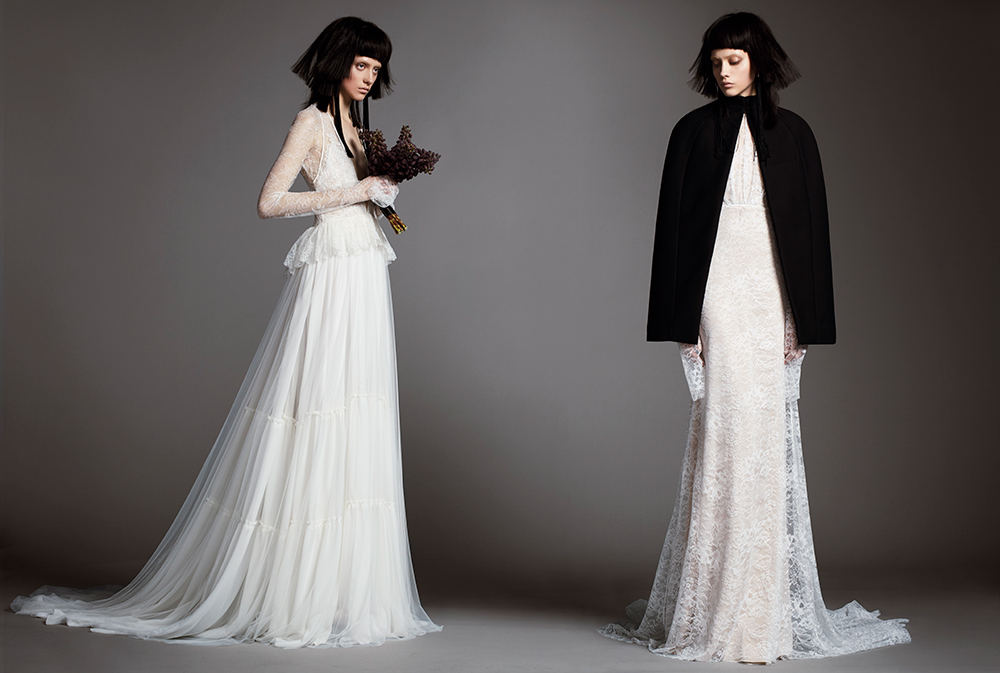Madeleine & Adeline - Vera Wang Spring 2018 Bridal Collection. www.theweddingnotebook.com