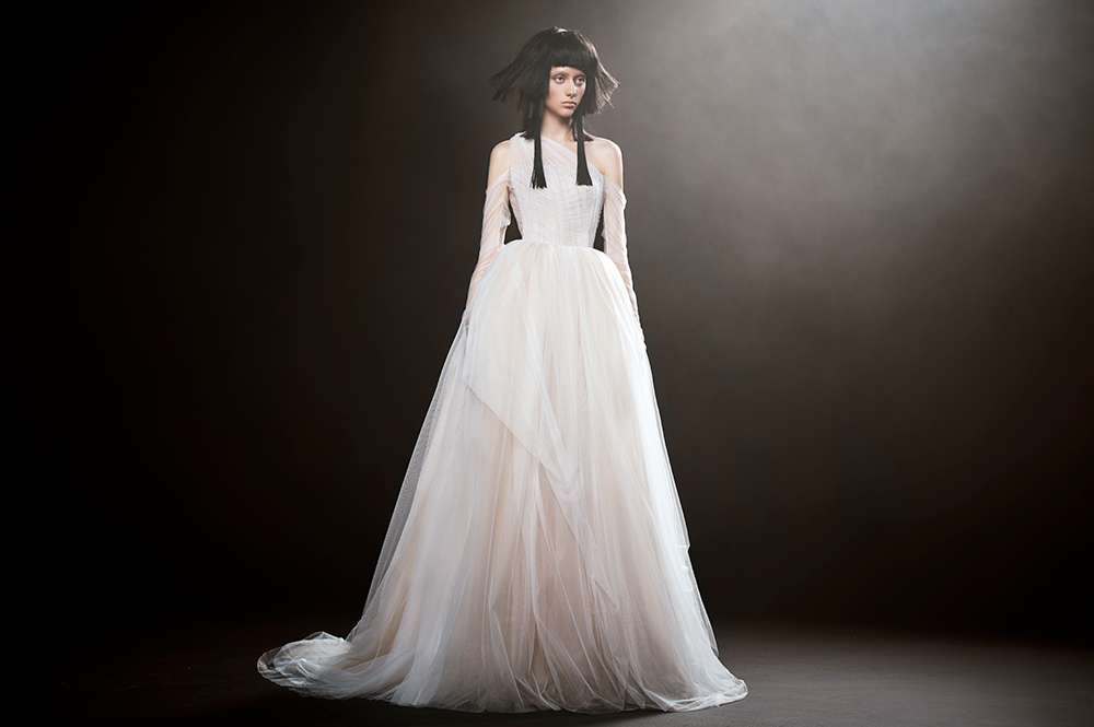 Englantine - Vera Wang Spring 2018 Bridal Collection. www.theweddingnotebook.com