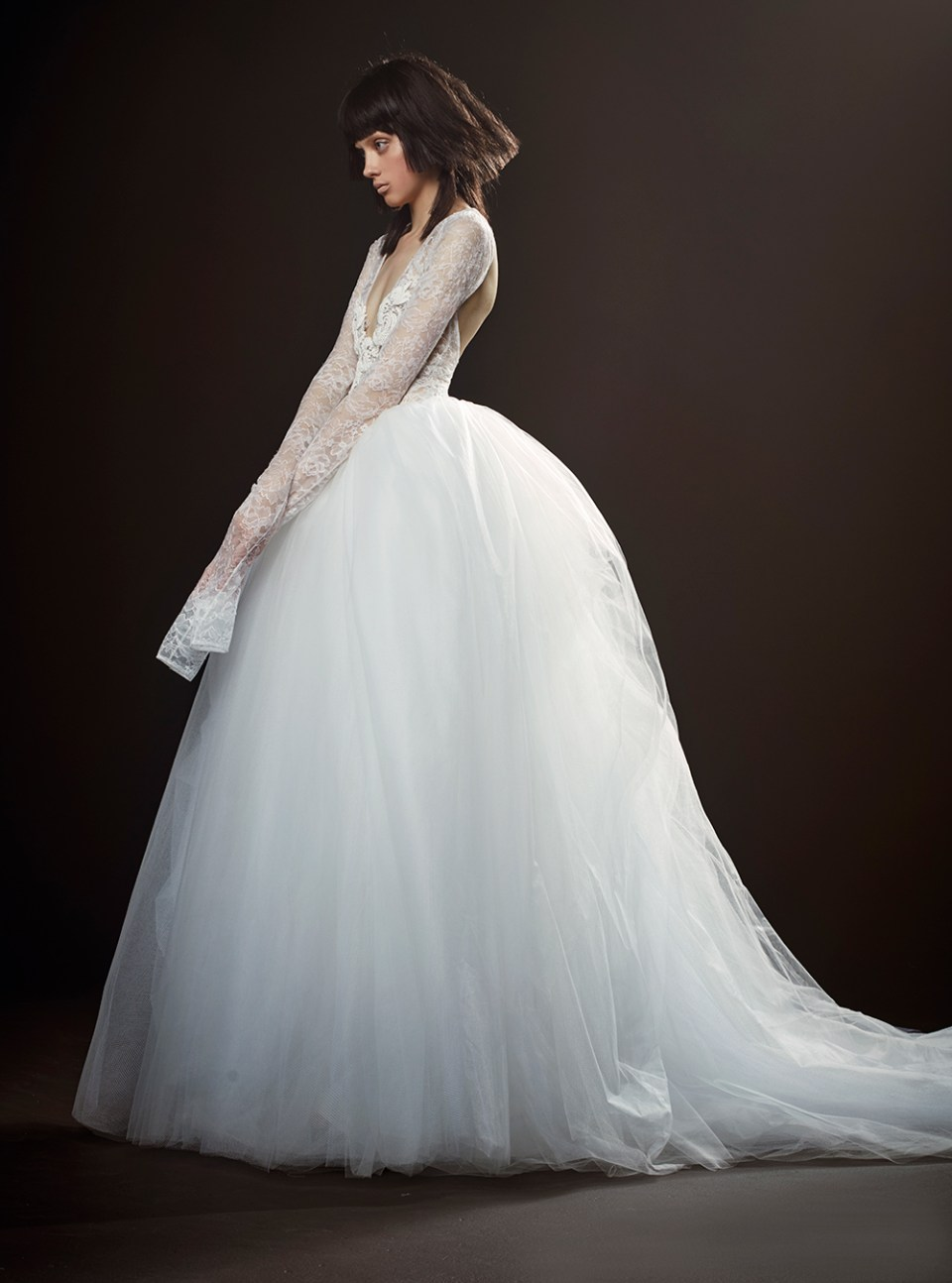 Therese - Vera Wang Spring 2018 Bridal Collection. www.theweddingnotebook.com