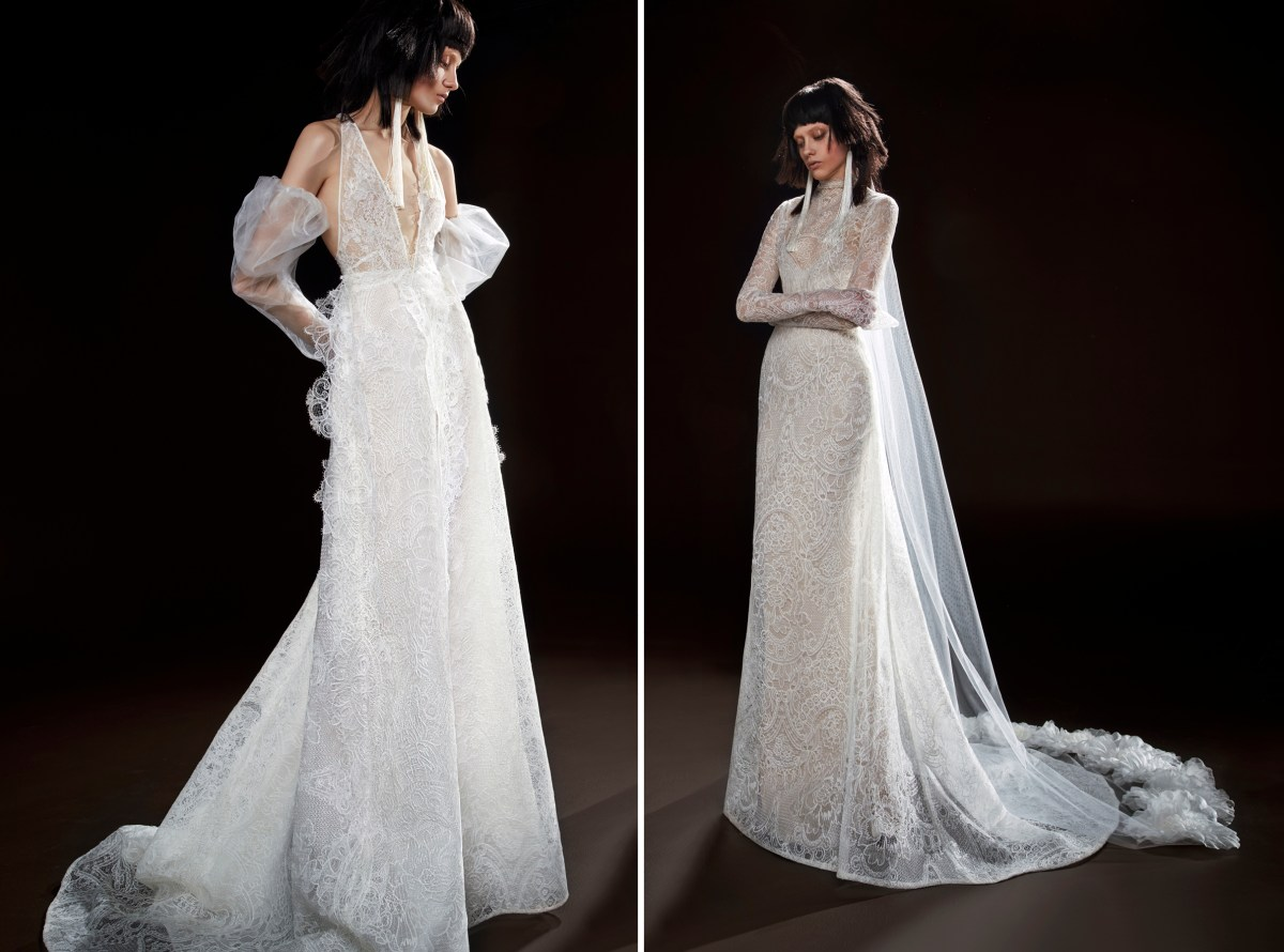 Celestine & Cecile - Vera Wang Spring 2018 Bridal Collection. www.theweddingnotebook.com