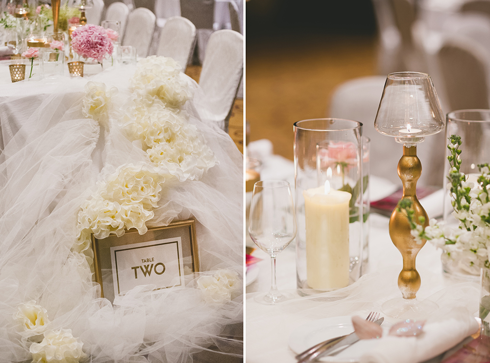 The Westin Kuala Lumpur wedding. Styling by The Wedding Notebook. Photography by Inlight Photos. www.theweddingnotebook.com