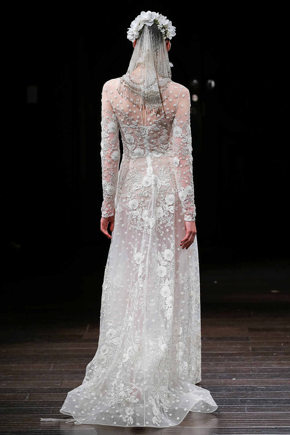 ALBERTA - Naeem Khan 2018 Bridal Collection. www.theweddingnotebook.com