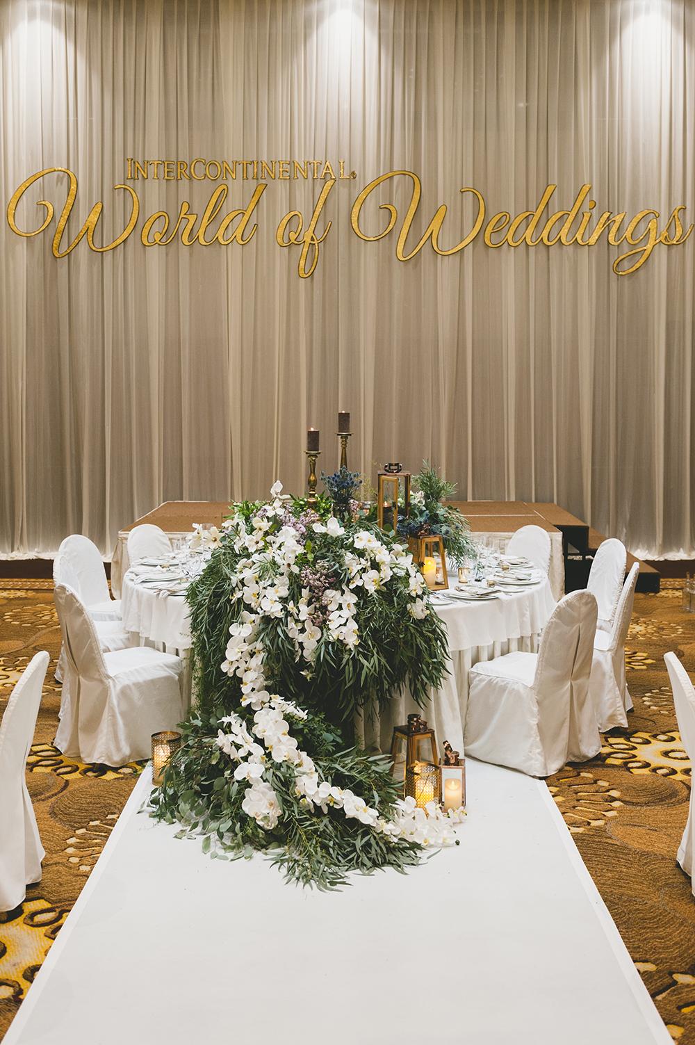 Wedding at InterContinental Kuala Lumpur. Styling by The Wedding Notebook. Photo by Inlight Photos. www.theweddingnotebook.com