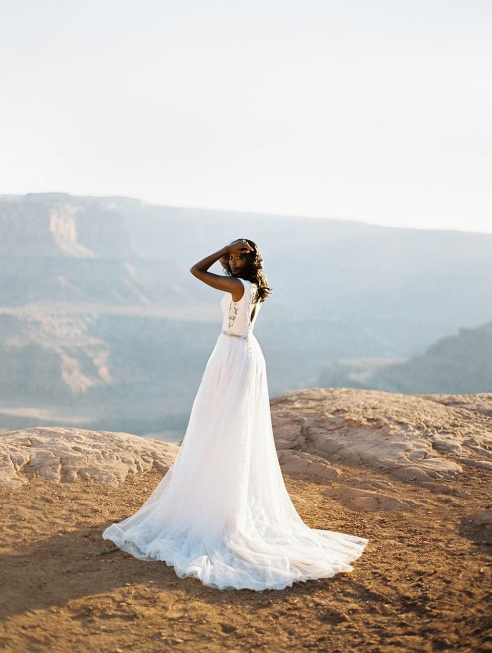 Maya - Wilderly Bride by Allure Bridals Spring 2018 Collection. www.theweddingnotebook.com
