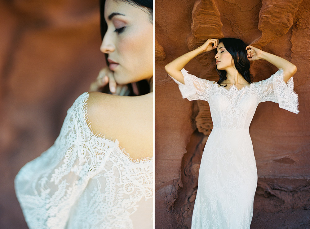 Camellia - Wilderly Bride by Allure Bridals Spring 2018 Collection. www.theweddingnotebook.com
