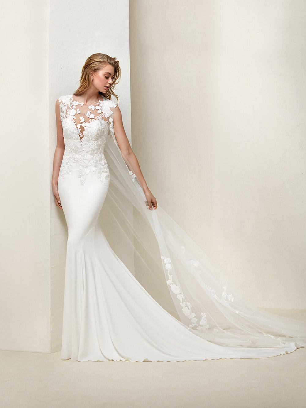Drail - Pronovias 2018 Bridal Collection. www.theweddingnotebook.com
