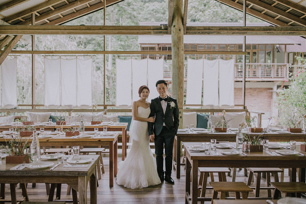 A Little Farm On The Hill, Janda Baik. Rustic wedding venue. Photo by Hellojanelee. www.theweddingnotebook.com