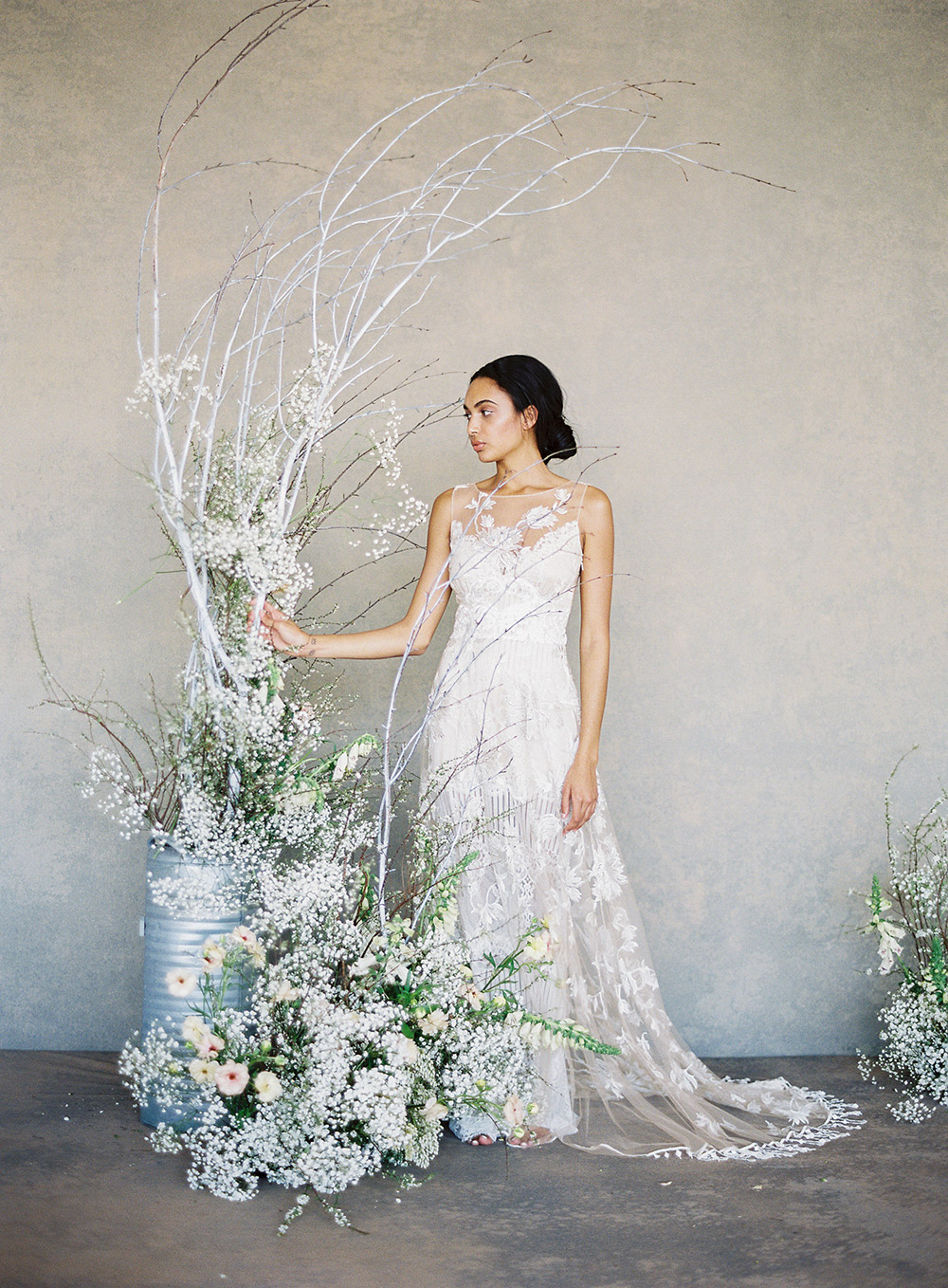 Shangri-la – Claire Pettibone Spring 2019 Bridal Collection. www.theweddingnotebook.com