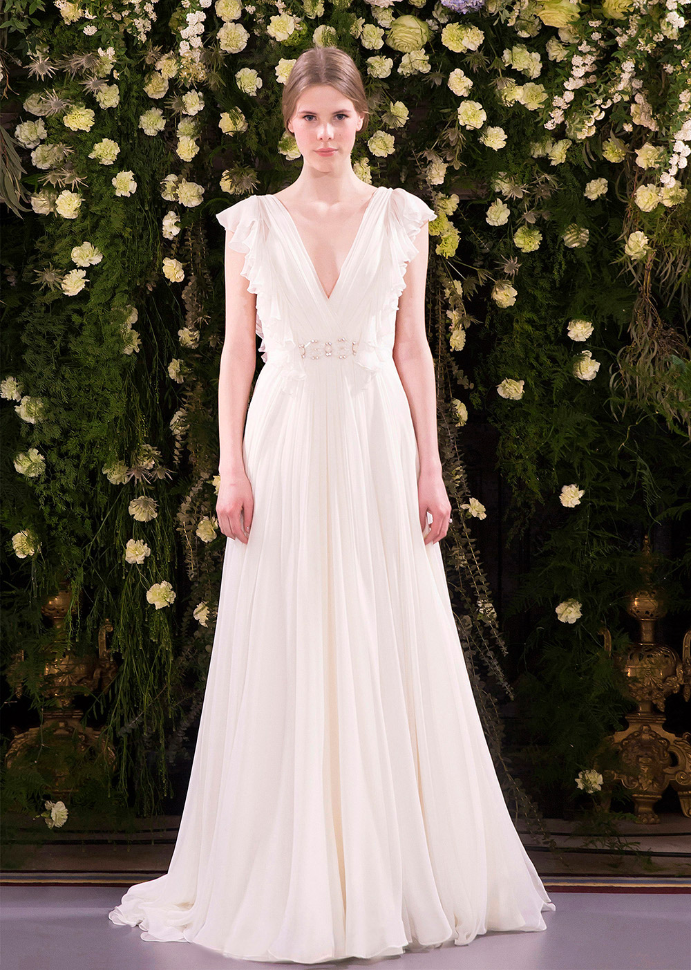 Julia – Jenny Packham 2019 Bridal Collection. www.theweddingnotebook.com