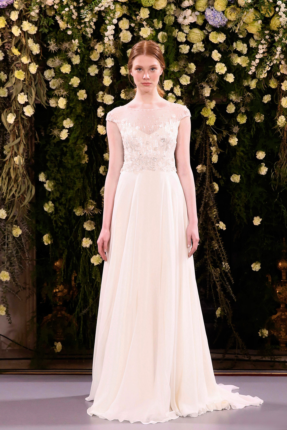 Sylvia – Jenny Packham 2019 Bridal Collection. www.theweddingnotebook.com