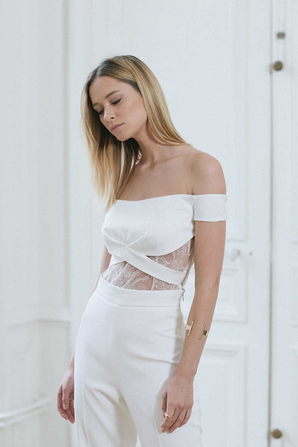 Volney – Rime Arodaky 2018 RTW Rehearsal Collection. www.theweddingnotebook.com