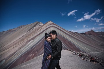Photography by Metrophoto. Destination engagement shoots in Peru. www.theweddingnotebook.com
