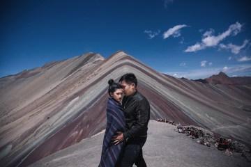 Photography by Metrophoto. Destination engagement shoots in Peru. www.theweddingnotebook.com