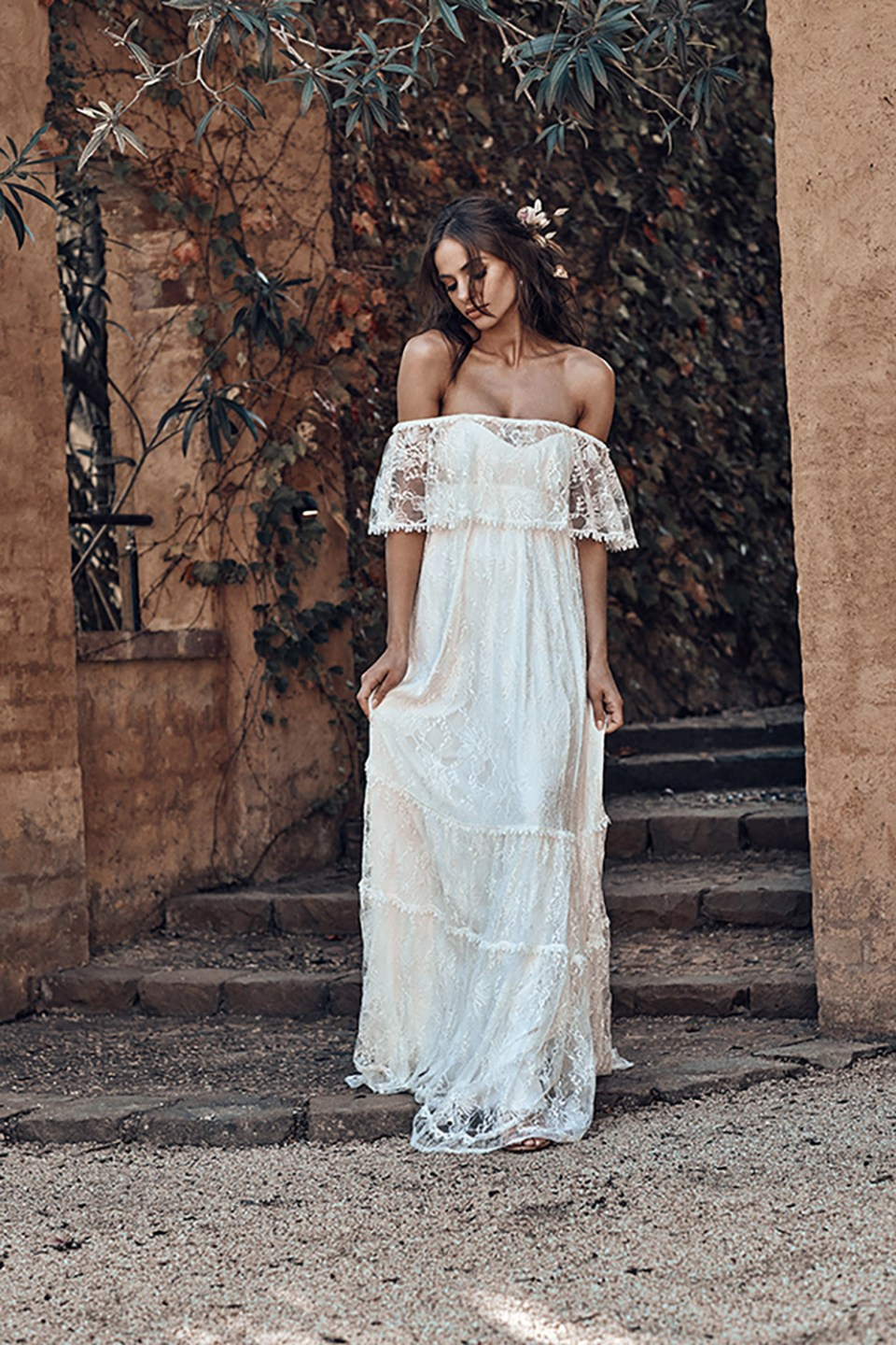 Franca - Grace Loves Lace 2018 Bridal Collection. www.theweddingnotebook.com