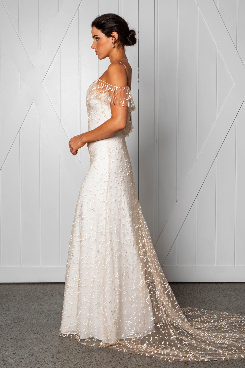 Marloe - Grace Loves Lace 2018 Bridal Collection. www.theweddingnotebook.com
