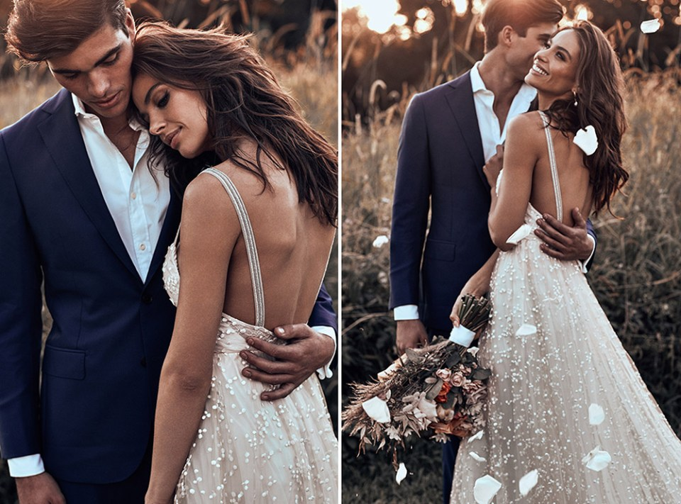 Menha - Grace Loves Lace 2018 Bridal Collection. www.theweddingnotebook.com