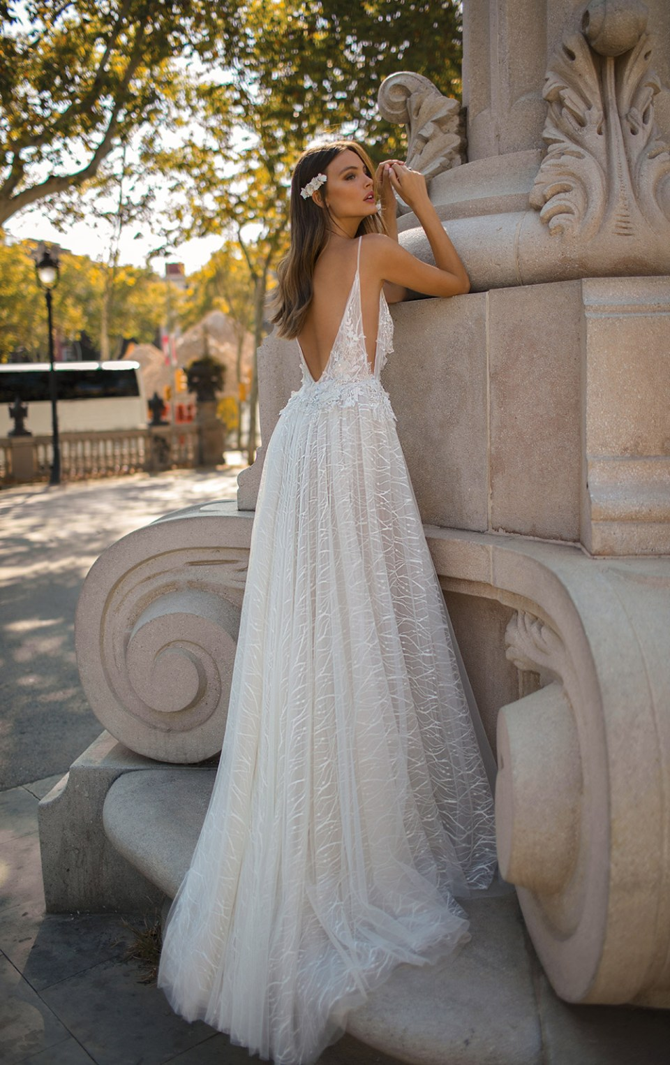 MUSE by Berta Fall 2019 Bridal Collection. www.theweddingnotebook.com