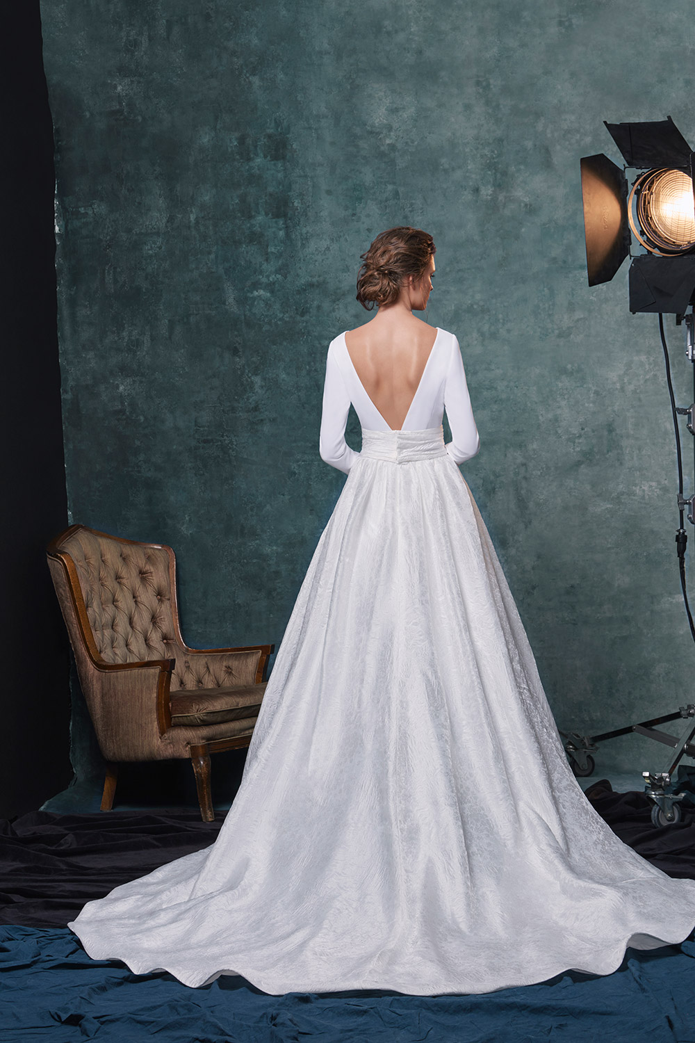 Reese - Sareh Nouri Fall 2019 Bridal Collection. www.theweddingnotebook.com