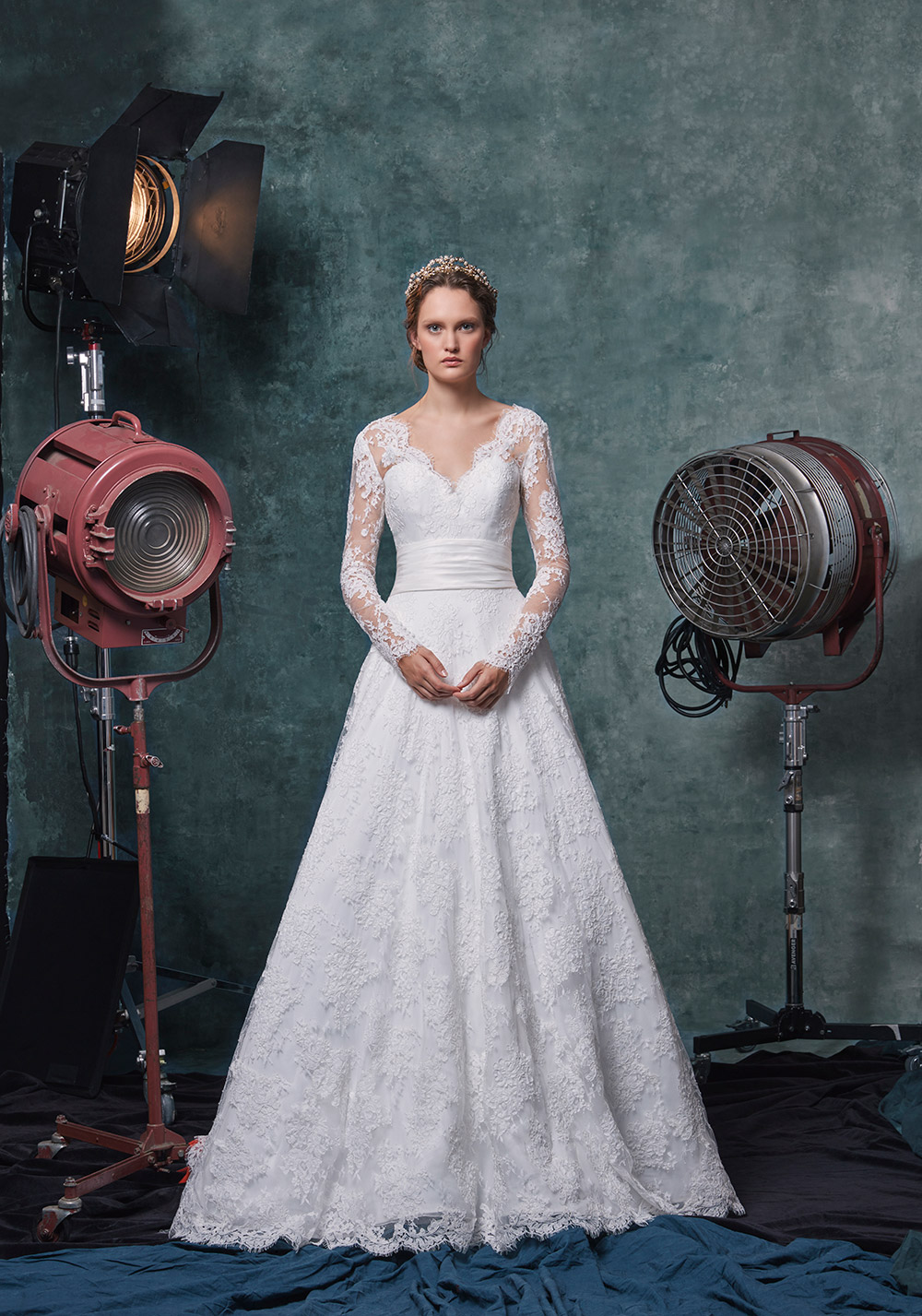 Scarlett - Sareh Nouri Fall 2019 Bridal Collection. www.theweddingnotebook.com
