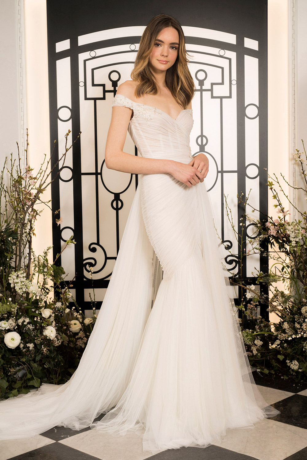 Elysee - Jenny Packham 2020 Bridal Collection. www.theweddingnotebook.com