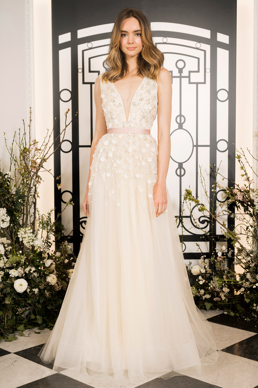 Colette - Jenny Packham 2020 Bridal Collection. www.theweddingnotebook.com
