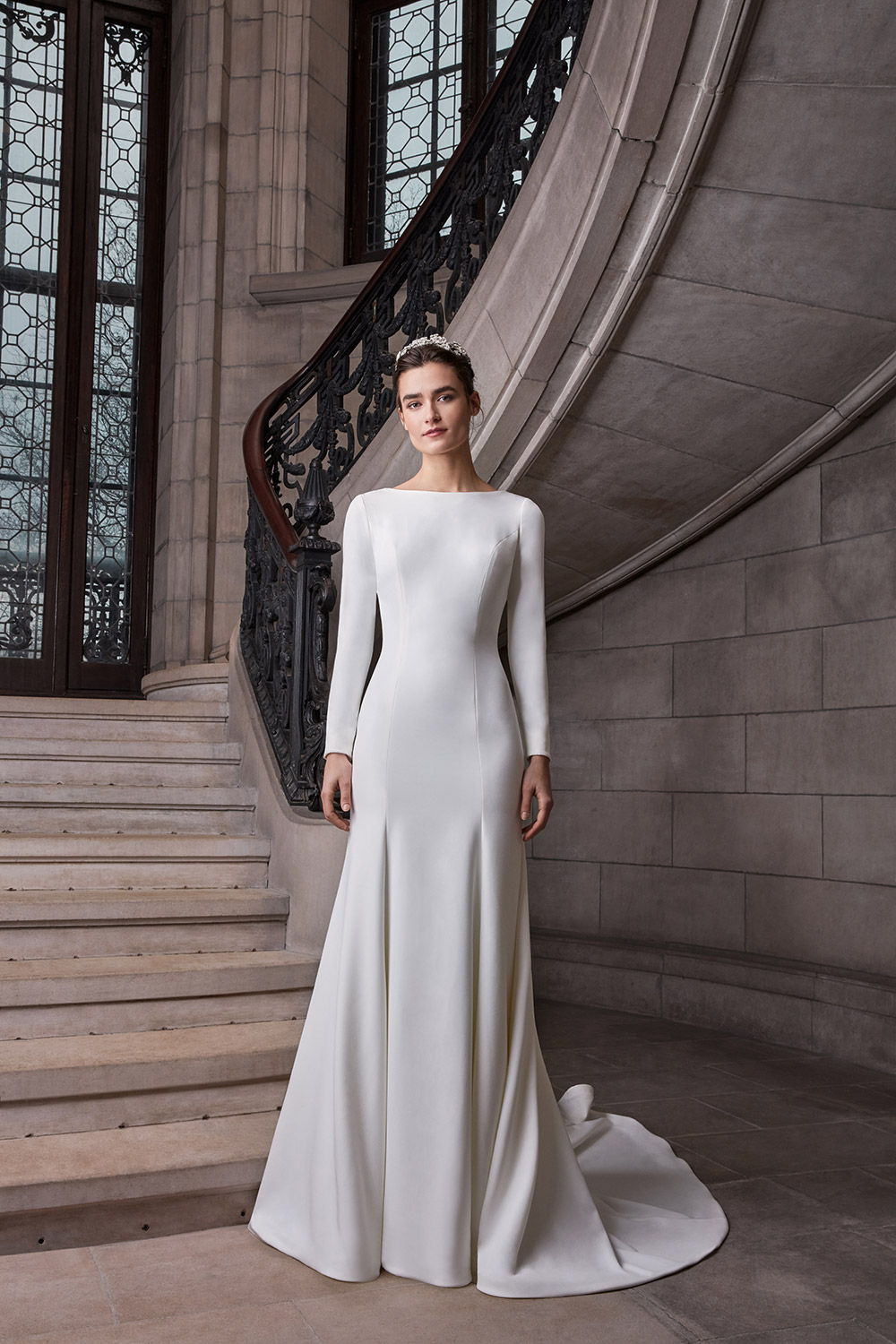 Meghan - Sareh Nouri Spring 2020 Collection. www.theweddingnotebook.com
