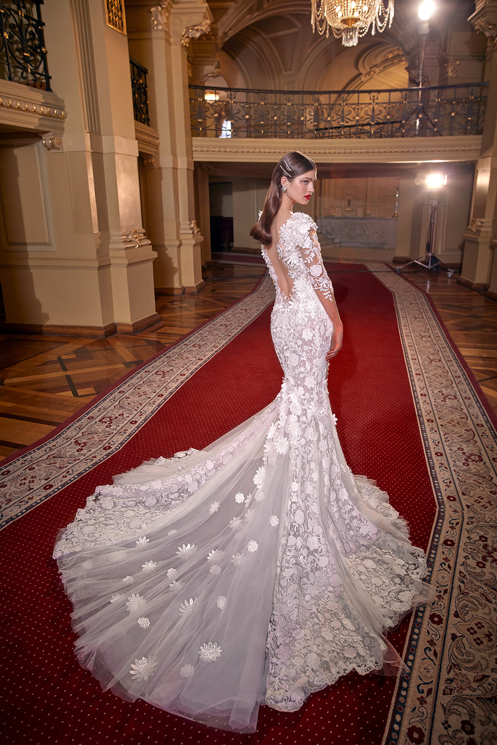 Lindsay -  Galia Lahav Couture Spring 2020 Collection. www.theweddingnotebook.com