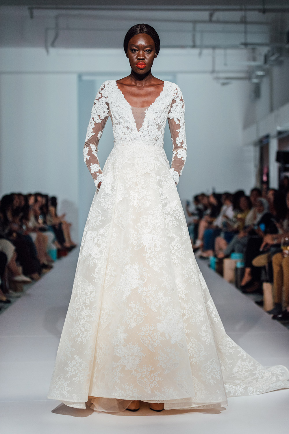 Lusan Mandongus 2020 Bridal Collection. http://www.theweddingnotebook.com