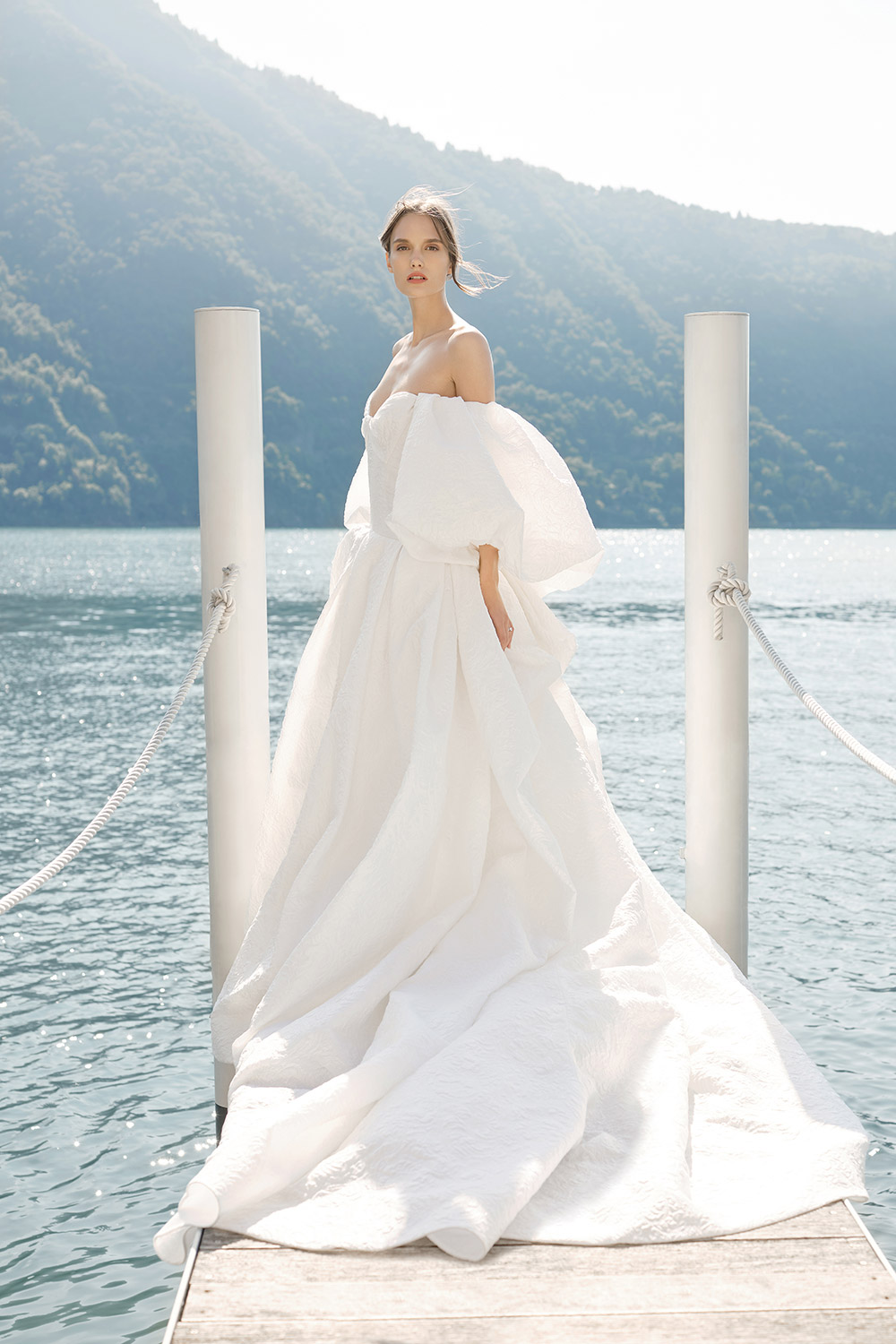 Theodora - Monique Lhuillier Fall 2020 Bridal Collection. www.theweddingnotebook.com