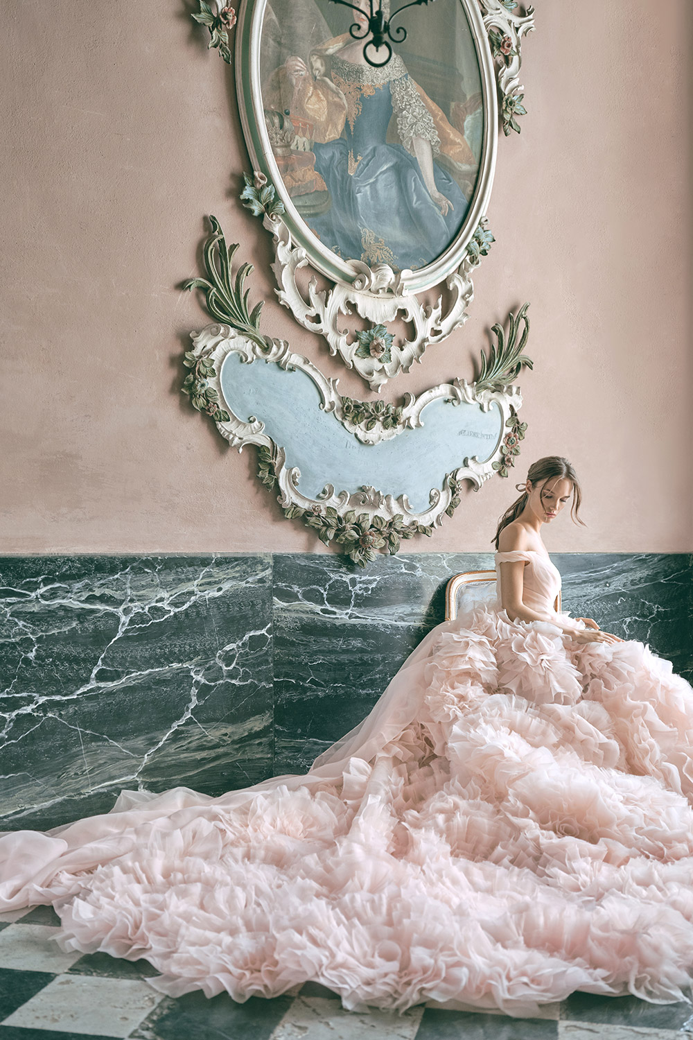 SecretGarden - Monique Lhuillier Fall 2020 Bridal Collection. www.theweddingnotebook.com
