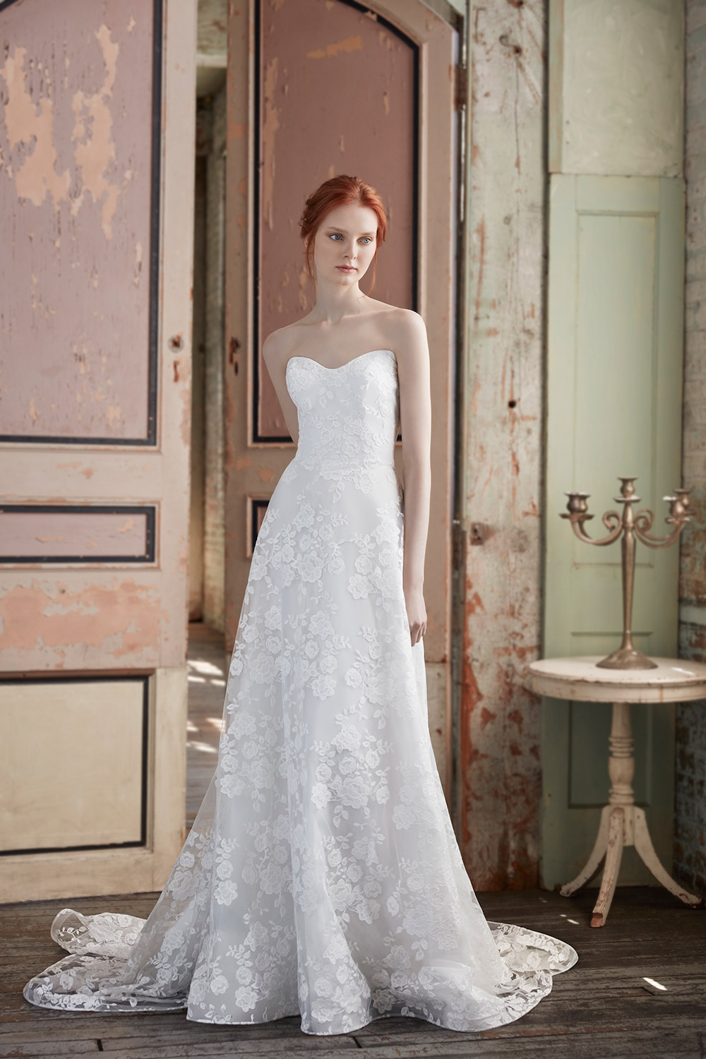 Paulette - Sareh Nouri Fall 2020 Bridal Collection. www.theweddingnotebook.com