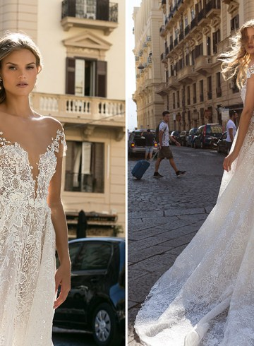 Berta Bridal Fall 2020 Collection. www.theweddingnotebook.com