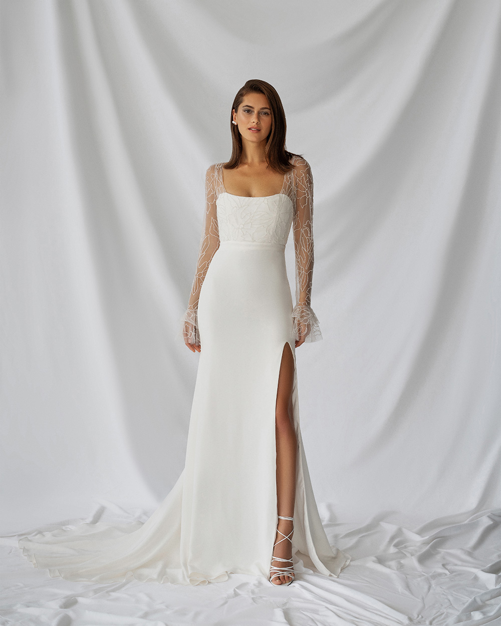 Alexandra Grecco Fall 2021 Bridal Collection. www.theweddingnotebook.com