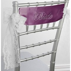 Where To Buy Chair Sashes American Girl Doll Styling Banners Bride Satin Sash