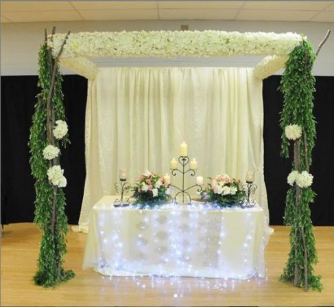 White Rose Decor