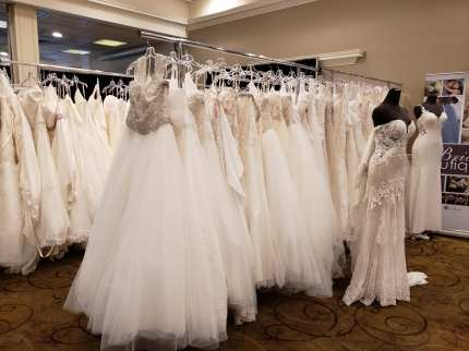 Gown sale provided by Bridal Boutique