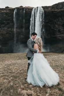Dress: Taylor's Bridal Boutique | Photo: Karissa Poot Photography