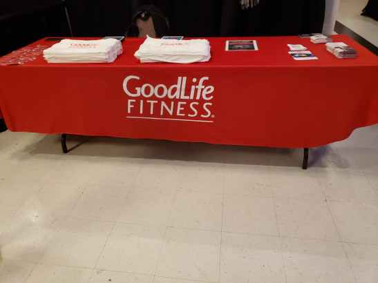 goodlife fitness at sarnia wedding expo
